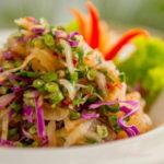 Escape Haven's Green Papaya Salad