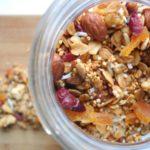 The ultimate gluten free quinoa granola!