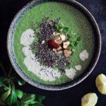 Gluten free broccoli detox soup