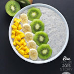 Chia seed breakfast bowl (vegan, gluten free)