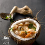 A delicious, yet light coconut curry soup