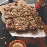 Healthy Homemade Granola Bars (5 ingredients)