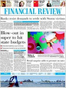 au financial review.750