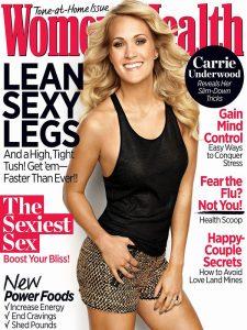 carrie underwood covers womens health november 2013 01 e1381558330855 1